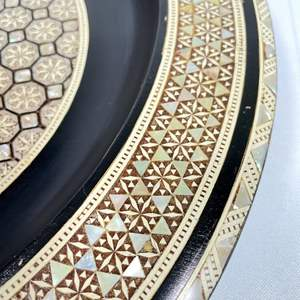 Lot # 7 - Mini-Mosaic Mother of Pearl Plate