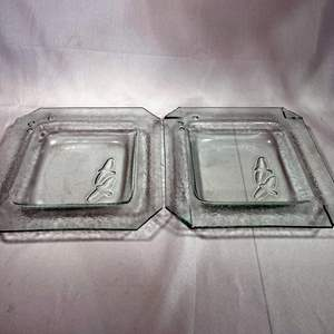 Lot # 11 - Robert Lee Fritz Glass Art Trays