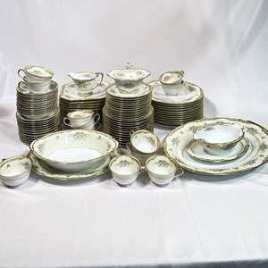 Lot # 12 - Noritake Japanese Fine China Set Service for 12