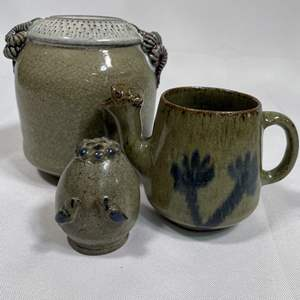 Lot # 23 - Egyptian Ceramic Pottery