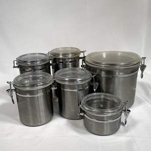 Lot # 34 - Collection of Kitchen Canisters