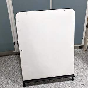 Lot # 64 - Large Standing White Board