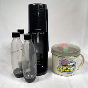 Lot # 37 - Soda Stream and Ice Cream Maker