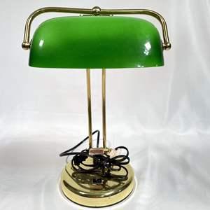 Lot # 43 - Bankers Lamp Table Lamp