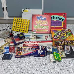 Lot # 121 - Games! Games! Game!  Never Be Bored Again!