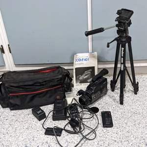 Lot # 123 - Sony CCD F401 Video Camera