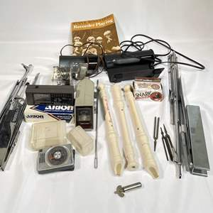 Lot # 50 - Recorders, Stands, Tuners and Music Accessories