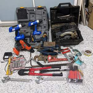 Lot # 127 - Garage Tools and Other Items