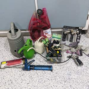Lot # 128 - Gardening Tools and Items