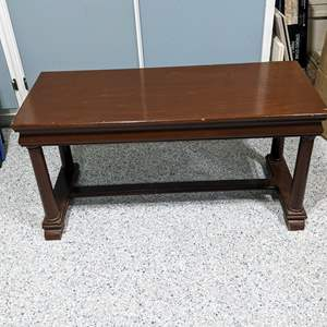 Lot # 132 - Wood Bench -or- coffee table