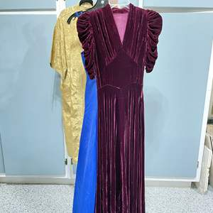 Lot # 138 - Vintage Dresses, Gold Robe