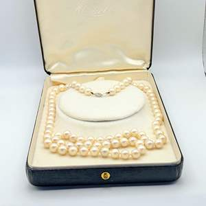Lot # 76 - 32 Inch Knotted Chatani Pearls by Haskell