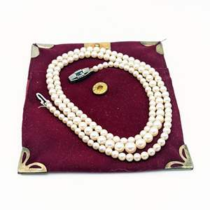 Lot # 77 - 26 Inch Pearl Necklace