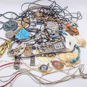 Lot # 106 - Vintage Pendants and Necklaces