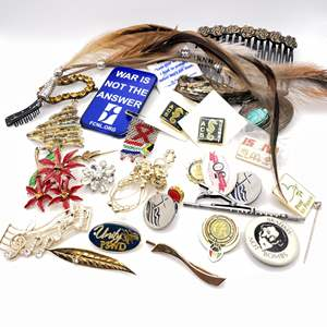 Lot # 112 - Pins and Hair Accessories