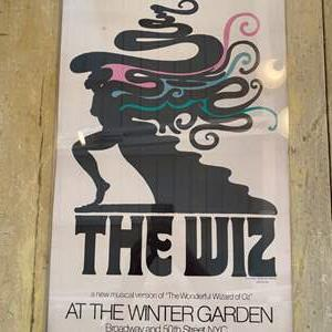 """Lot # 24 - First edition original 1974 Broadway poster """"The Wiz"""""""