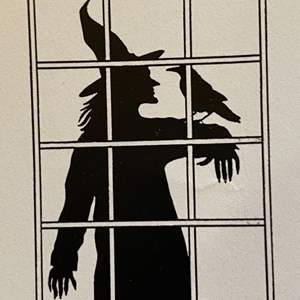 Lot # 36 - Halloween window decal