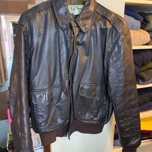 Lot # 25 - Leather jacket size 42