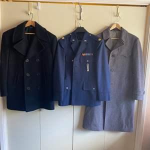 Lot # 101 - Military jackets