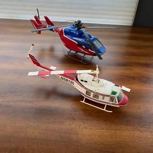 Lot # 283 - Plastic helicopter models