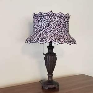 Lot # 29 - Tiffany Style Lamp