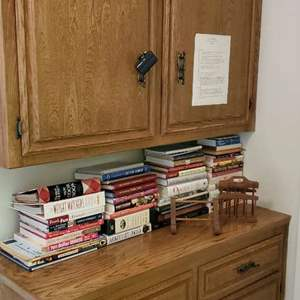 Lot # 34 - Assorted Literature and Magazine Stands