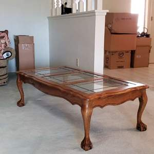Lot # 36 - Solid Wood Coffee Table ( Matches Lot # 37 )