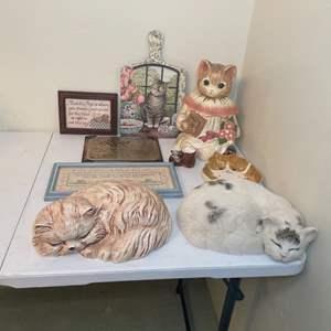 Lot # 66 - Cat Decor