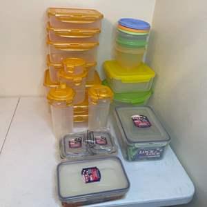 Lot # 68 - Plastic Sealable Food Storage