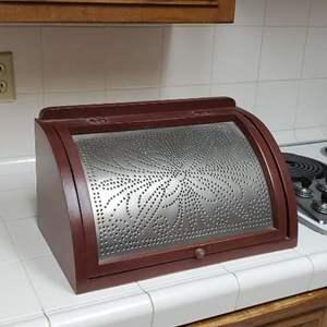 Lot # 80 - Vintage Bread Box (Unused)
