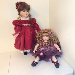 Lot # 84 - 2003/2007 Marie Osmond Porcelain Dolls