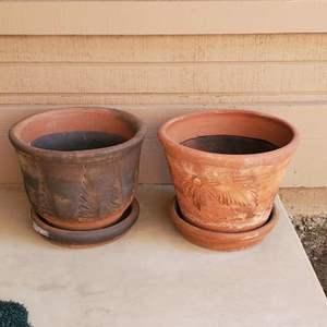 Lot # - 91 Terra Cotta Pots