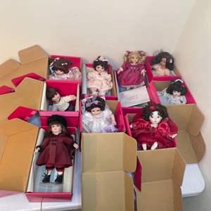 Lot # 92-  Marie Osmond Dolls