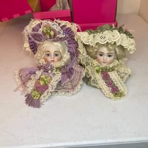 Lot # 95 - Marie Osmond Porcelain Doll Heads