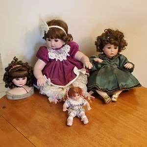 Lot # 96 - Marie Osmond Porcelain Dolls