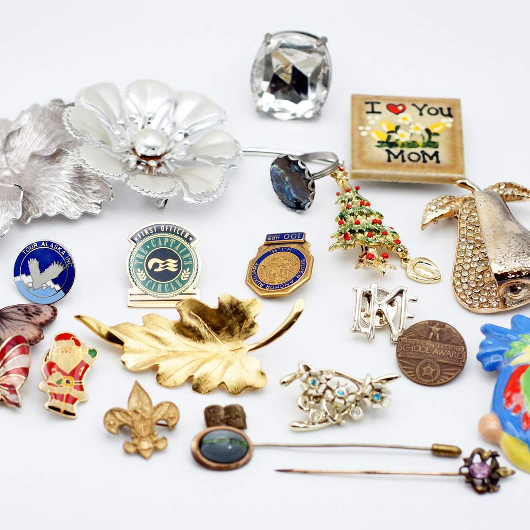 Lot # 245 - Amazing Pin Collection (main image)