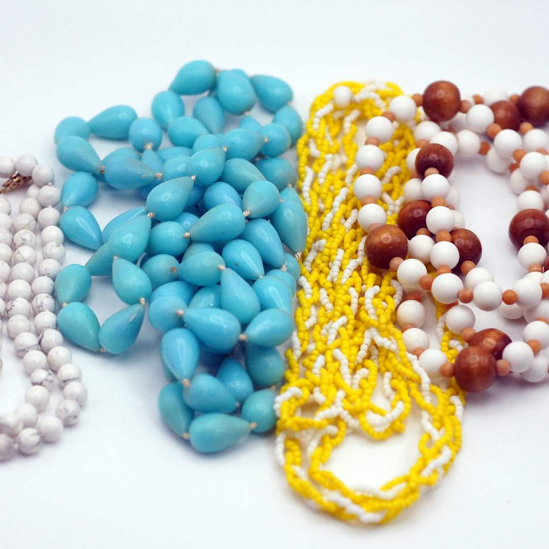 Lot # 248 - Beaded Necklaces (main image)