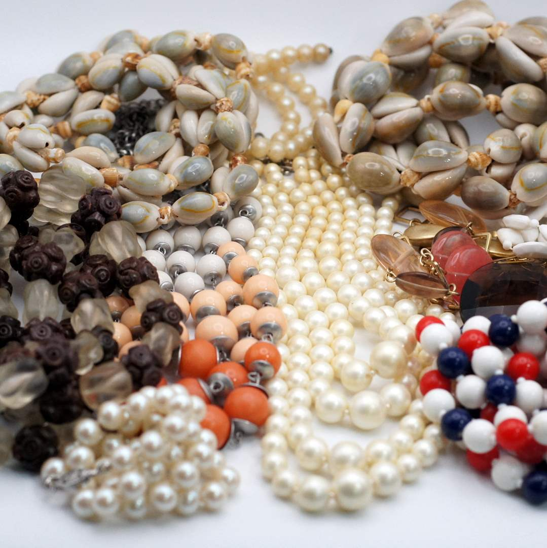 Lot # 249 - Beaded Statement Necklaces (main image)
