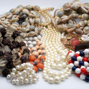 Lot # 249 - Beaded Statement Necklaces