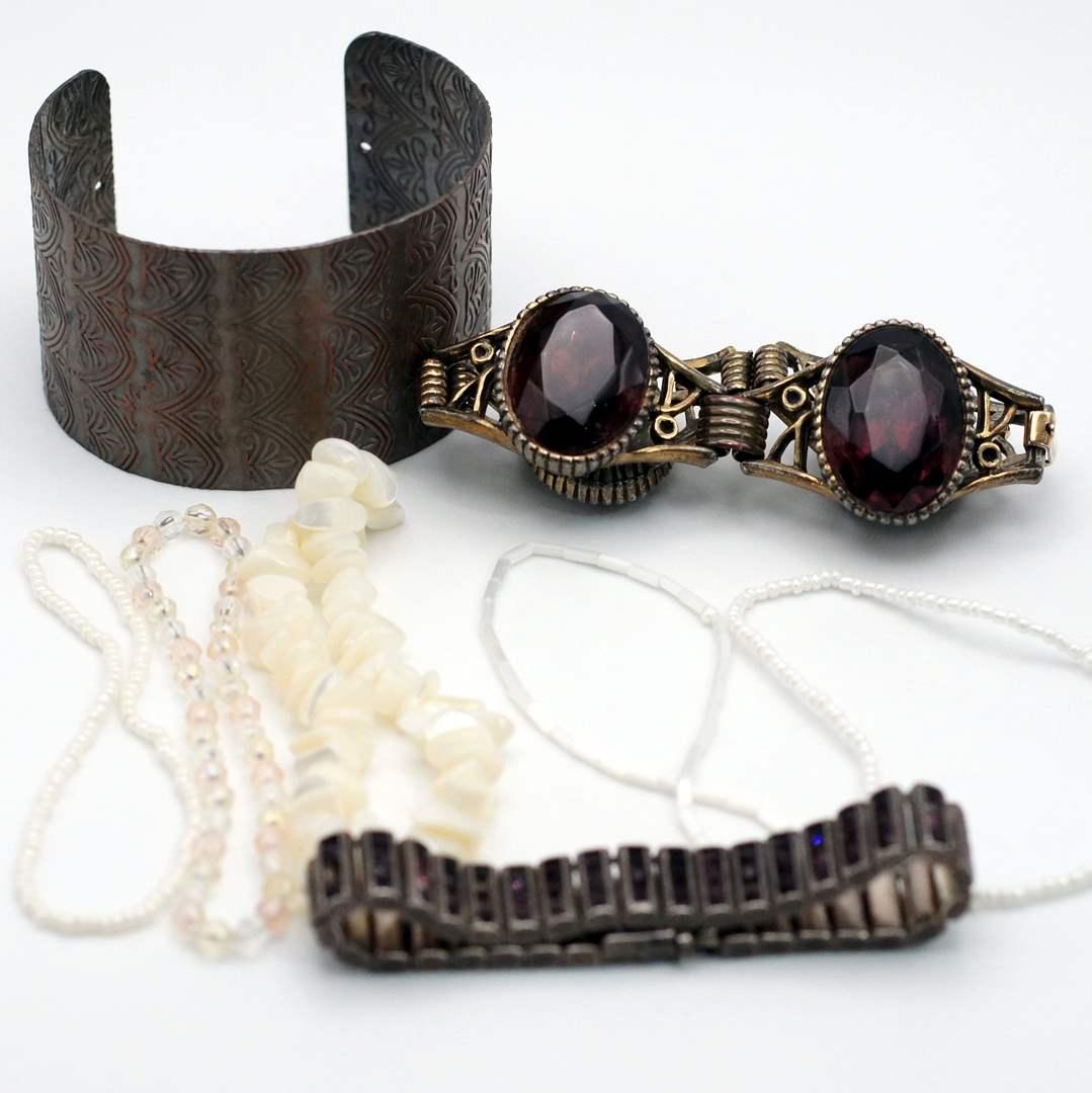Lot # 251 - A Collection of Unique Bracelets (main image)