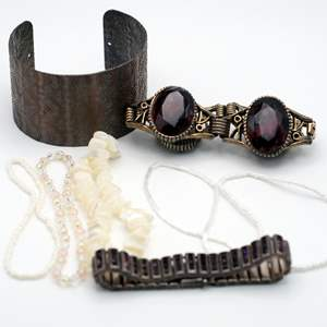 Lot # 251 - A Collection of Unique Bracelets