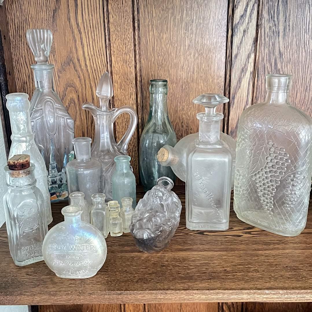 Lot # 10 - Antique Bottle Collection (main image)