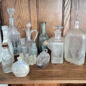 Lot # 10 - Antique Bottle Collection