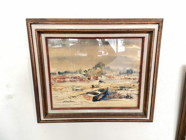 Lot # 14 - Chas Demmling Original Signed Watercolor (main image)