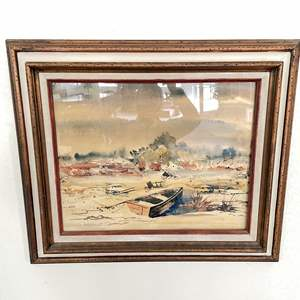 Lot # 14 - Chas Demmling Original Signed Watercolor