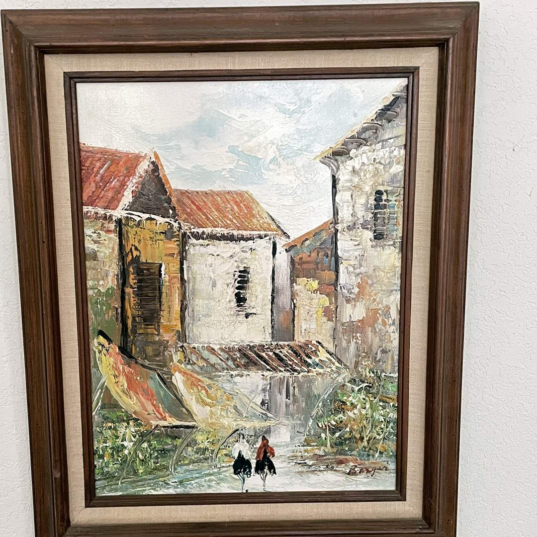 Lot # 15 - Barger Original Signed Painting (main image)