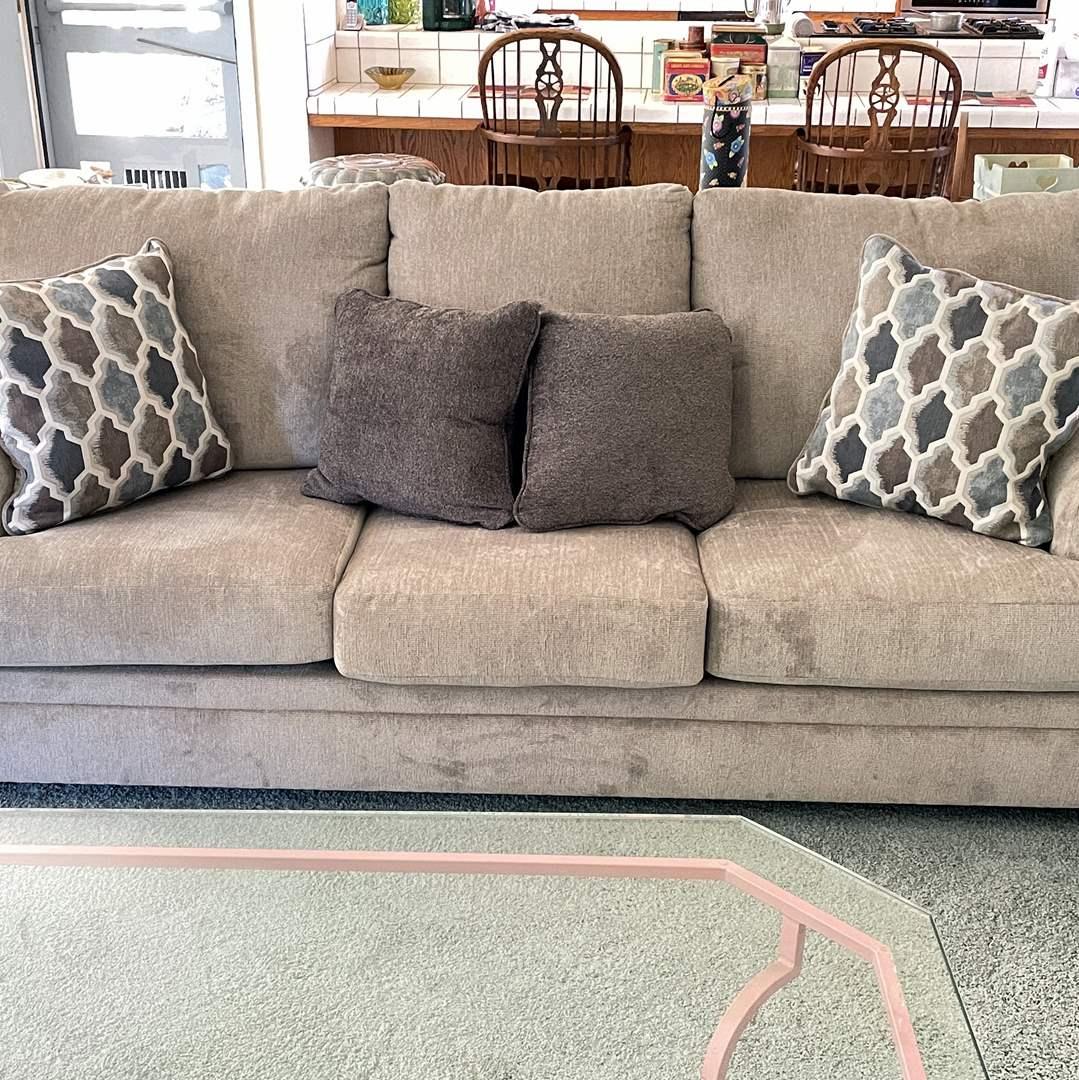 Lot # 23 - Like New Sofa (main image)