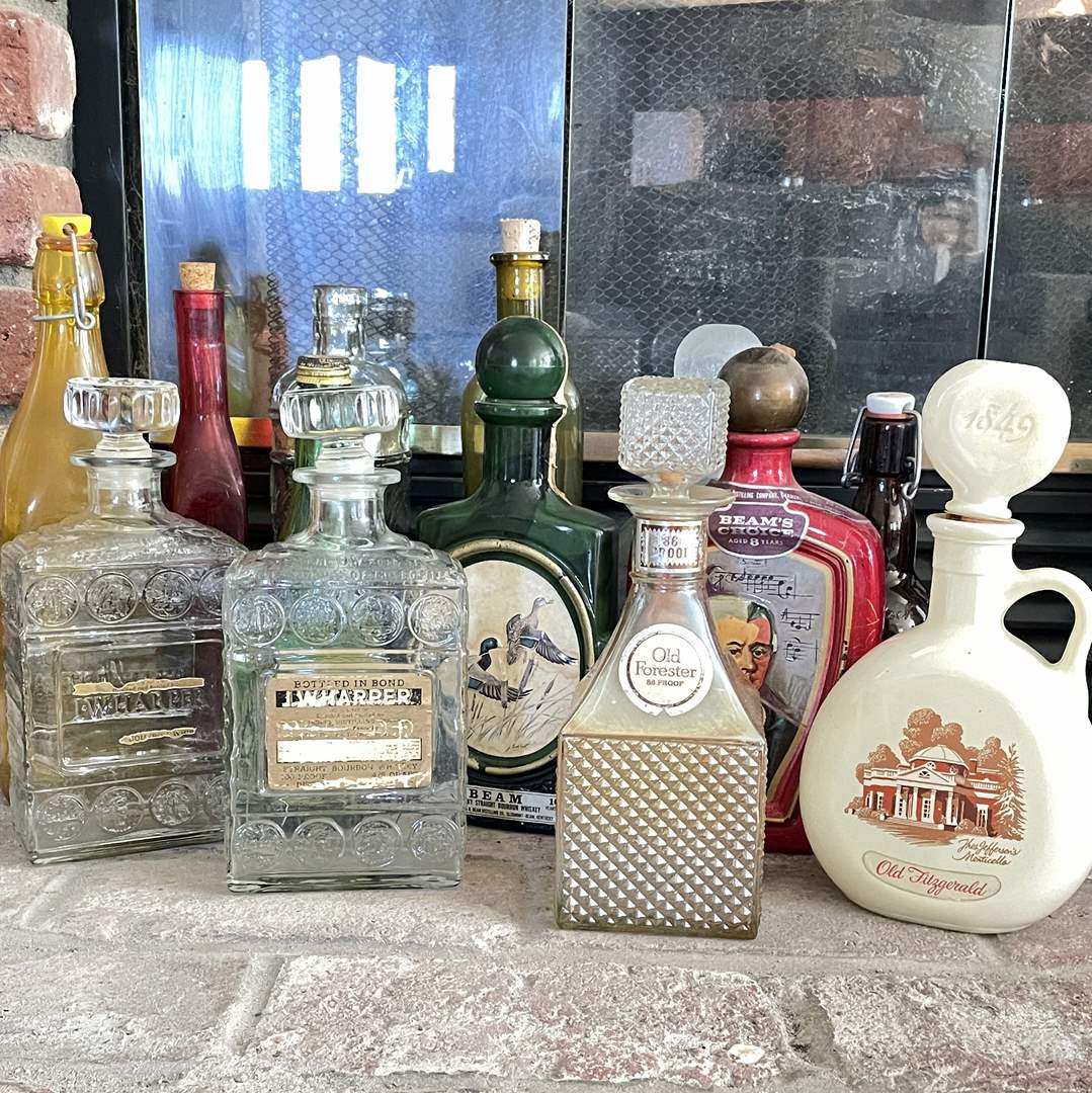 Lot # 27 - Collectible Whiskey Bottles (main image)