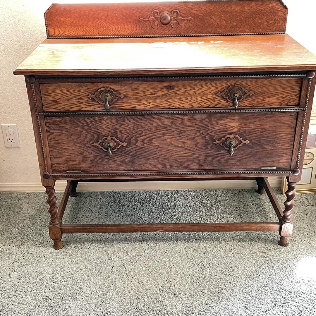 Lot # 45 - Antique Buffet Table (main image)