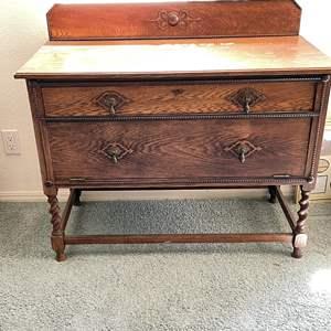 Lot # 45 - Antique Buffet Table
